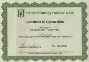 Sponsorship forest killarney football club sponsorship yadclub Image collections