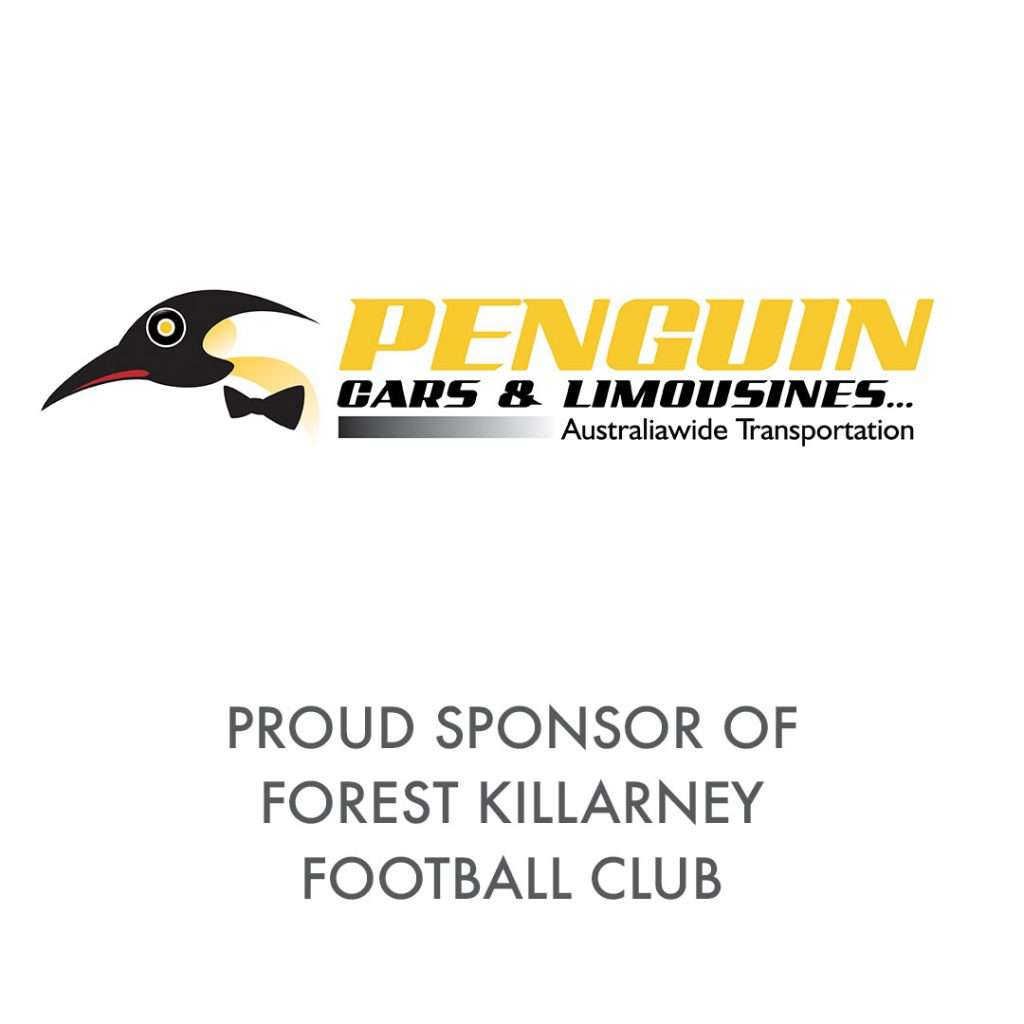 Penguin Cars and Limousines, Sydney Chaffeur and Airport Transfer Business that is sponsoring FOrest Killarney Football Club in 2020 during COVIFD-19